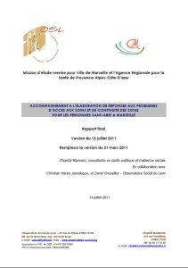 Rapport Manoli 2011